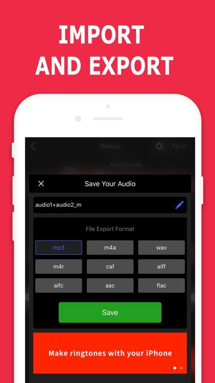 Audio Editor - Music Mixer screenshot-3