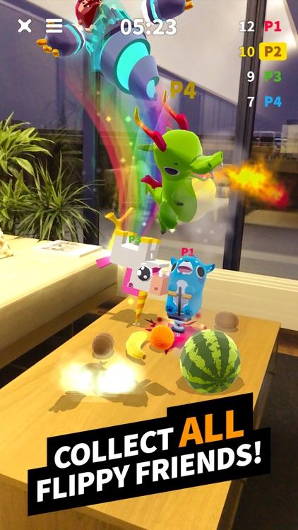 Flippy Friends Fruit Crush AR screenshot-5
