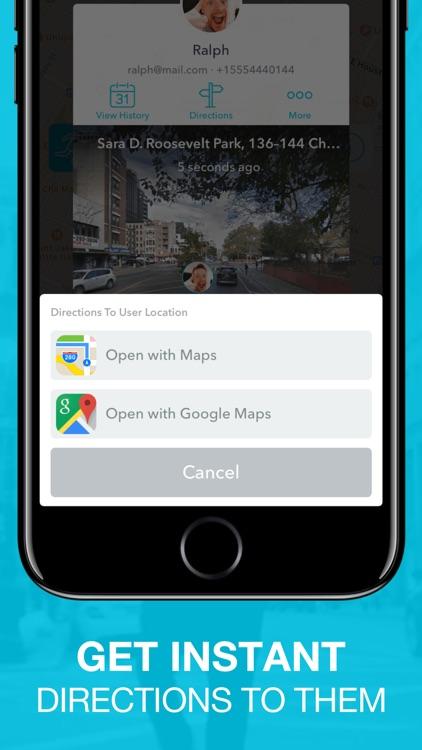 People Tracker - GPS Locator screenshot-4