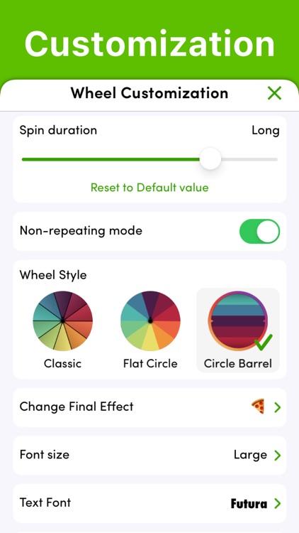 Daily Decision Wheel screenshot-4