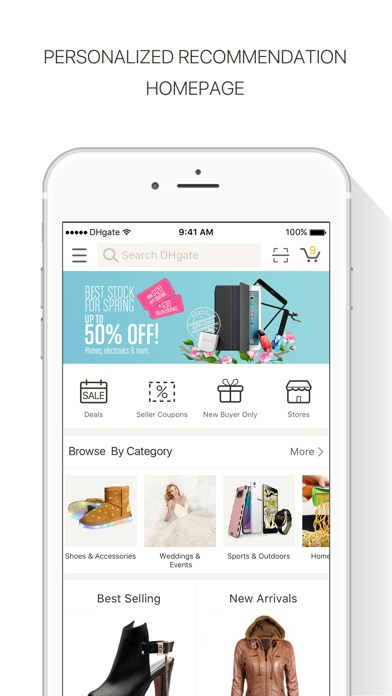 Download DHgate-Online Wholesale Stores for Pc
