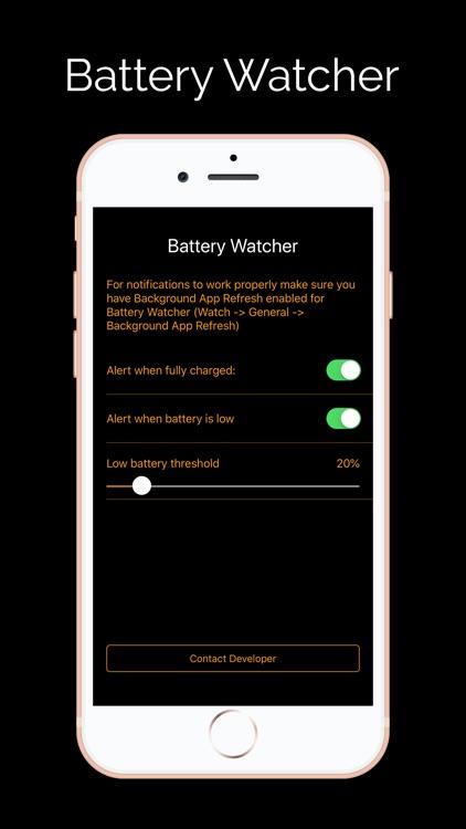 Battery Watcher Pro screenshot-3