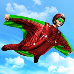Sky Diving Fly Wing Suit