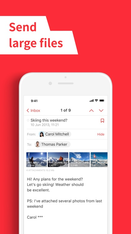 E-mail Client App – myMail screenshot-4