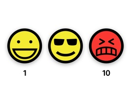 Pain Scale Stickers