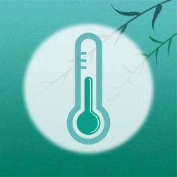 实时温度计-室内外温度湿度实时检测