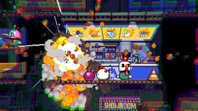 Bomb Chicken screenshot #1