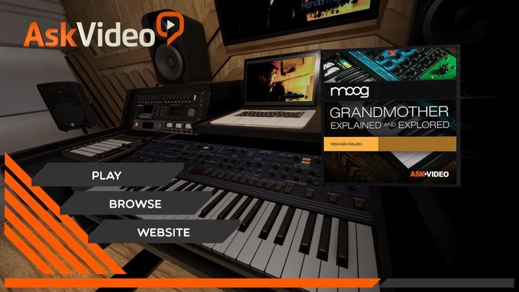 Moog Grandmother Course By AV screenshot-0