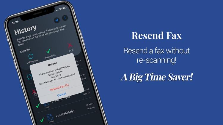Fax from iPhone - Alpha eFax screenshot-8
