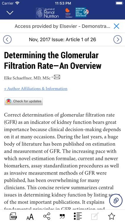 Journal of Renal Nutrition screenshot-3