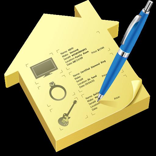 跟踪保护你的财产 Home Inventory for Mac