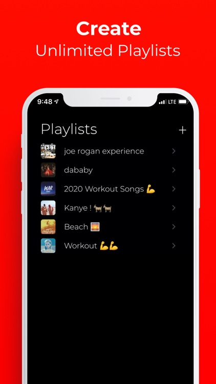 iMusic - Player for youtube screenshot-3