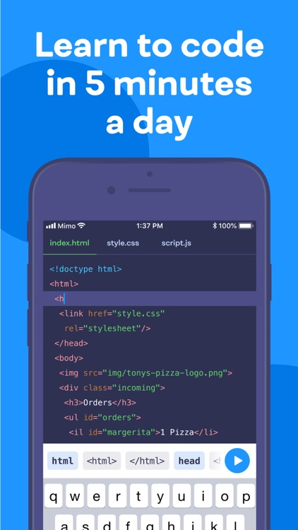 Mimo: Learn Coding/Programming screenshot-0