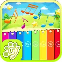 My music toy xylophone game