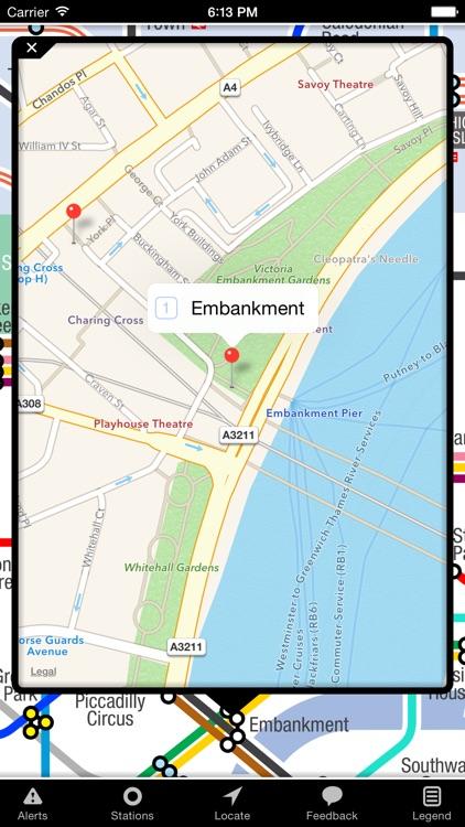 KickMap London Tube screenshot-4