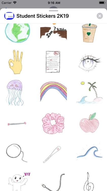 Student Stickers 2K19