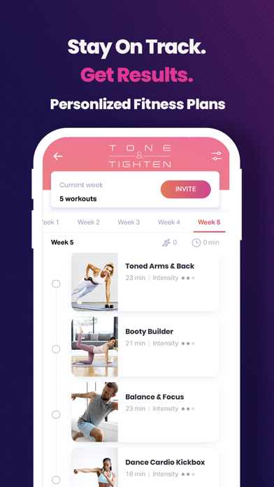 FitOn Workouts & Fitness Plansのおすすめ画像5