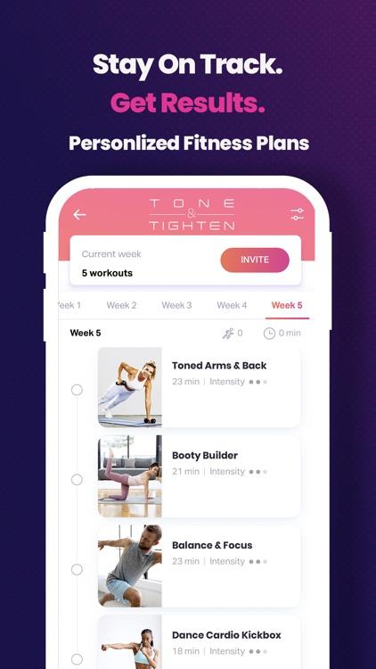FitOn Workouts & Fitness Plans screenshot-4