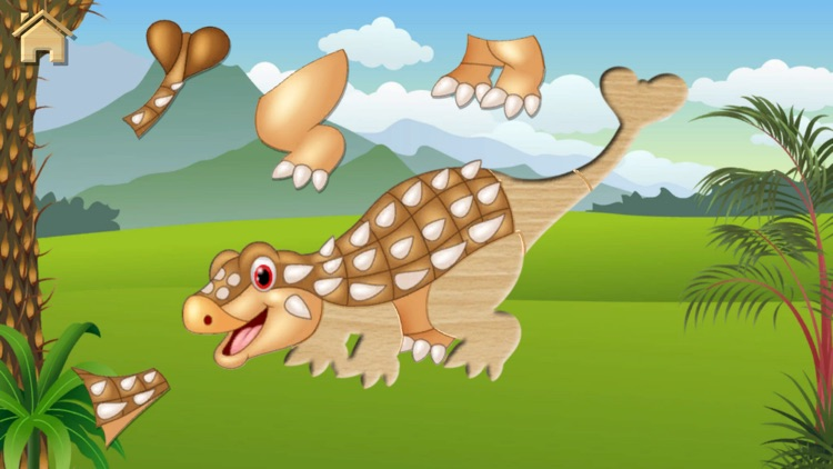 Dino Puzzle for Kids Full Game screenshot-4