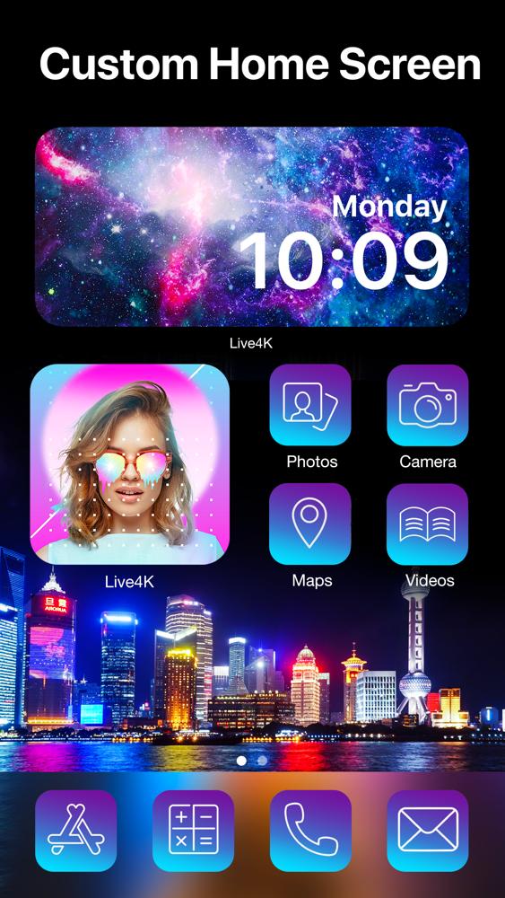 Live Wallpaper Maker - Live4K App for iPhone - Free ...