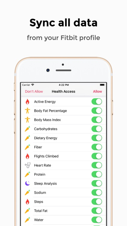 Health Sync for Fitbit Lite