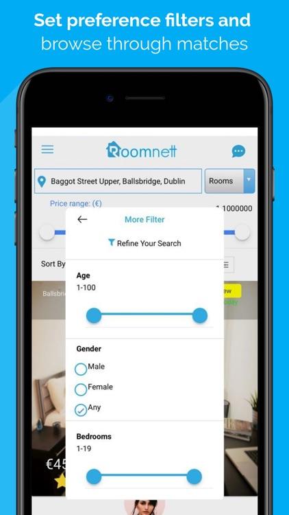 Roomnett: roommates-rooms screenshot-3
