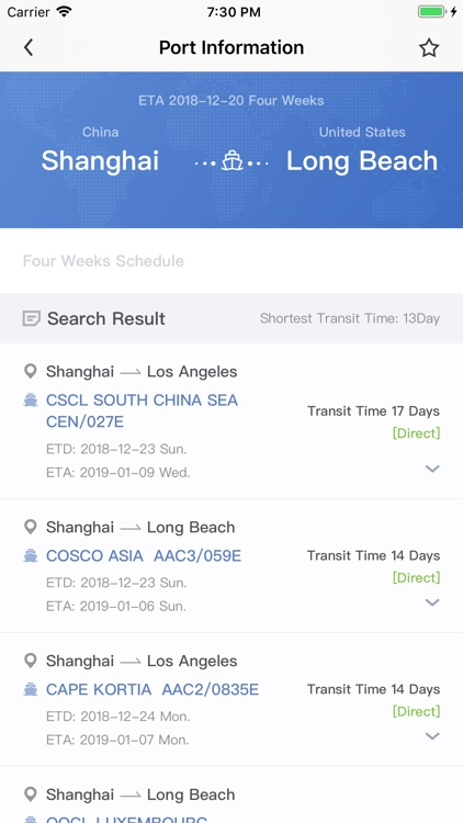 COSCO SHIPPING Lines by SHANGHAI COSCO SHIPPING INFORMATION