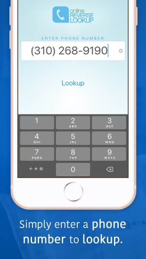 Look Up A Number >> Reverse Lookup On The App Store