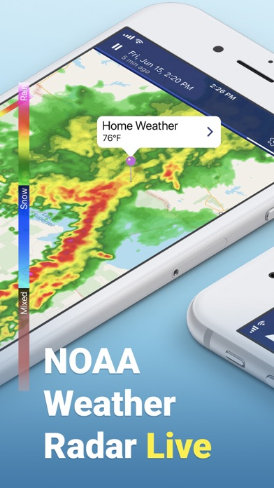 NOAA Weather Radar Live Screenshot