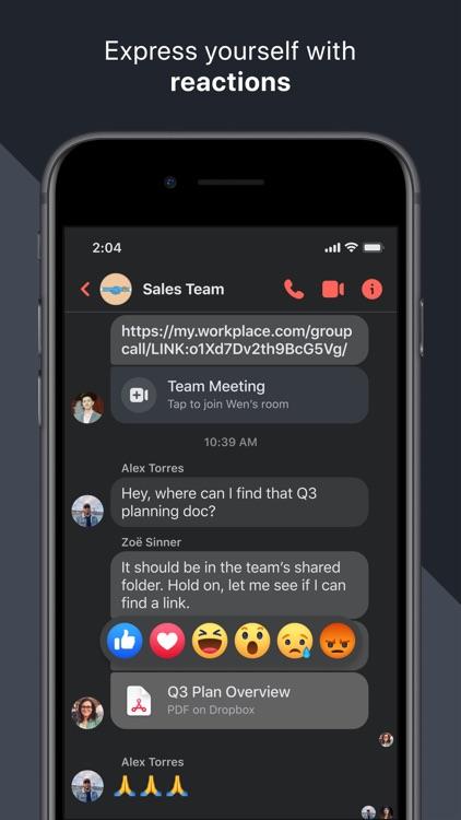 Workplace Chat screenshot-4
