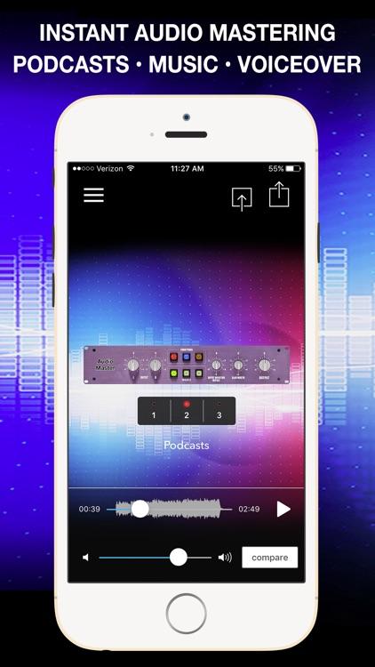 AudioMaster Pro: Mastering App screenshot-0
