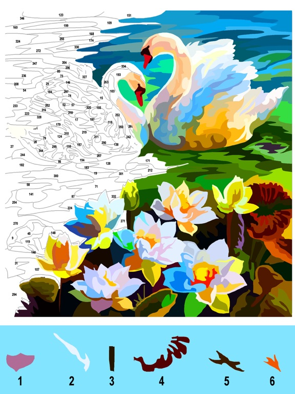 大人の塗り絵 ジグソーパズルのおすすめ画像4
