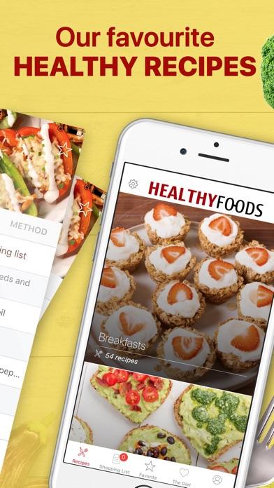 Healthy Food Meal Prep Planner Screenshot