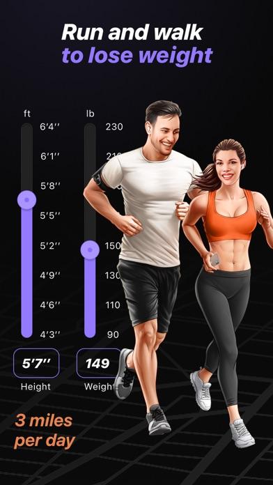Run & Walk to lose weightのおすすめ画像1
