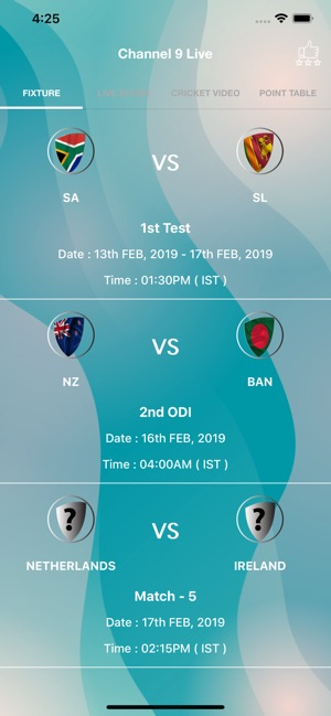 Channel 9 Live - IPL 2019 Live on the App Store