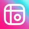 App Icon for Mixgram - Billede Collage App in Denmark IOS App Store