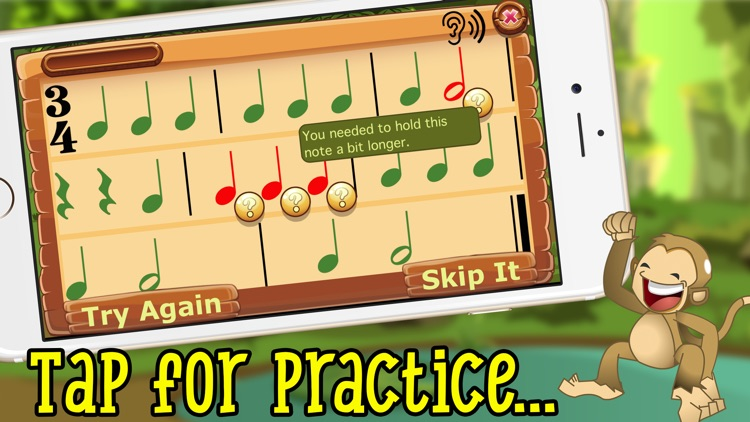 Rhythm Swing- Music Drills screenshot-0