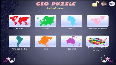 Screenshot for Geo Puzzle Deluxe in Portugal App Store