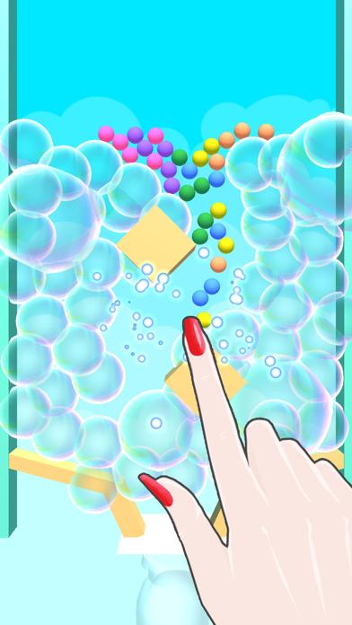 Bubble Ball Rush screenshot 1