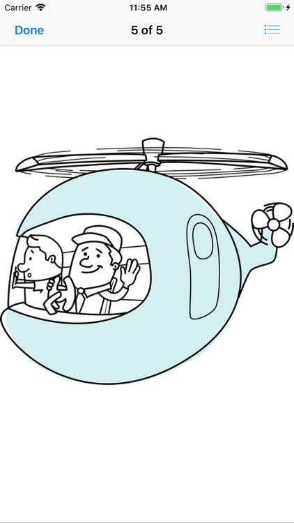 Lotsa Helicopter Stickers screenshot-6