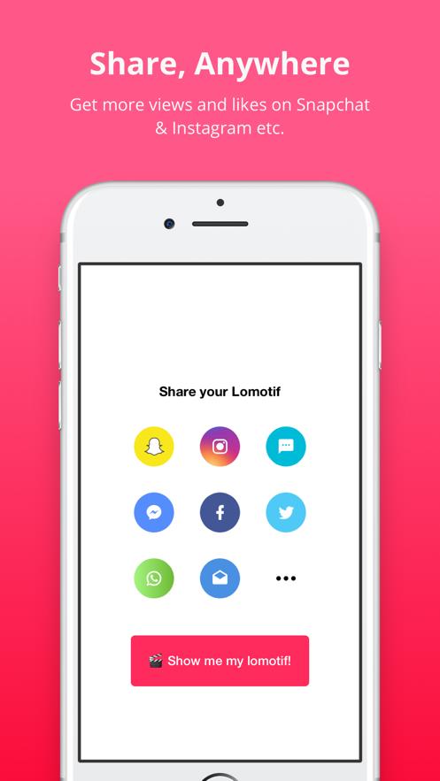 Lomotif - Music Video Editor App 截图