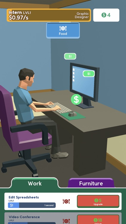 Work From Home 3D screenshot-0