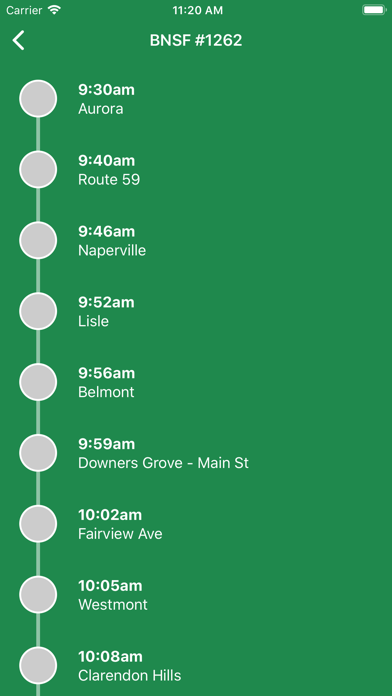Is Metra Late - Chicago Train Delays screenshot