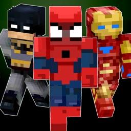 Super Skins hero for Minecraft