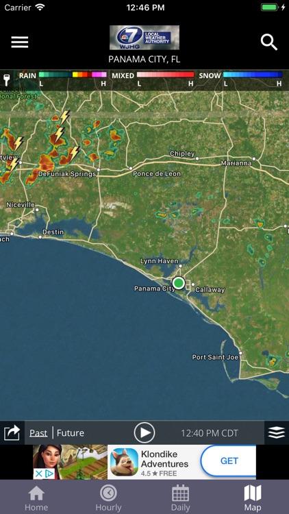 WJHG Weather screenshot-4