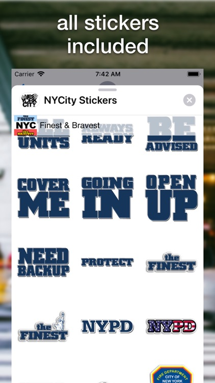 NYCity Stickers