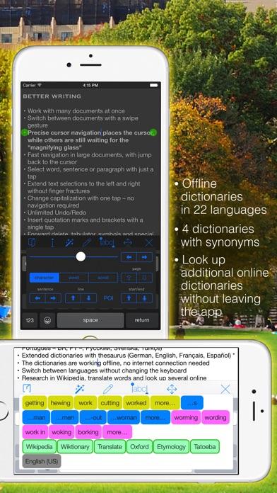 Screenshot #2 for Textkraft Pocket