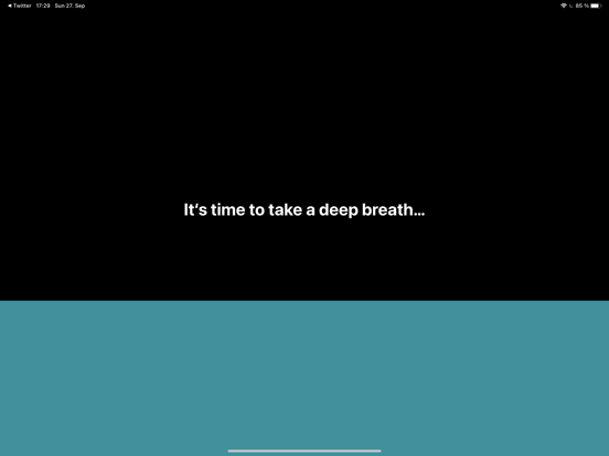 one sec — take a deep breath Screenshots