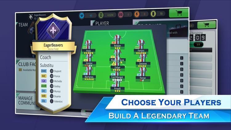Glorious Eleven Soccer Manager screenshot-3