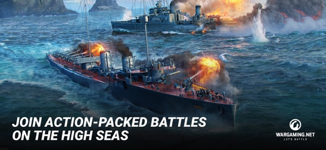 ‎World of Warships Blitz: MMO Screenshot
